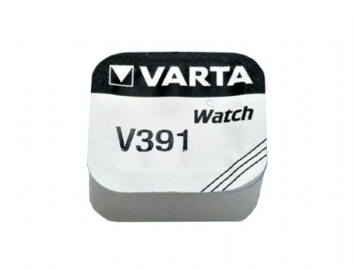 Varta V391  SR55 SR1120SW Silver Oxide Watch Battery 1.55v [1-Pack]